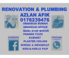 plumbing dan renovation taman melati 0176239476 azlan afik
