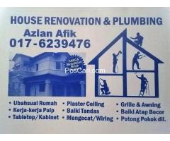 plumbing dan renovation azlan afik taman sri rampai
