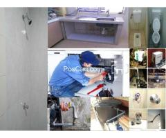 tukang baiki paip sinki tandas tersumbat azis PV2 Platinum Hill Condo