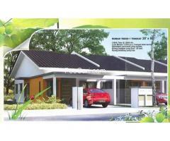 Rumah Teres 1 Tingkat, Taman Salak Kasturi, Salak Tinggi, Sepang, Selangor