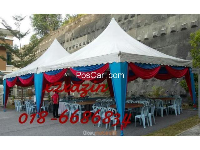 perkhidmatan sewa canopy
