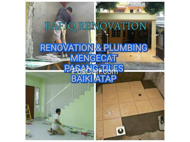 plumber/tukang paip mengecat baiki atap bocor