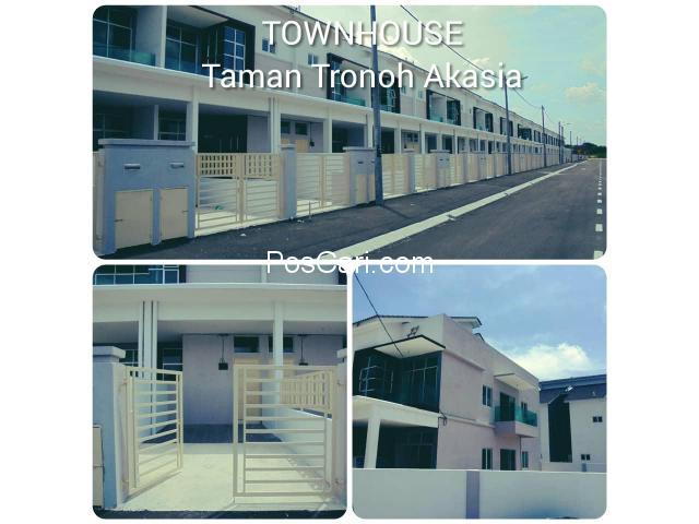 Townhouse 2 Tingkat -  Taman Tronoh Akasia, Perak