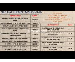 PROMOSI SEWA & JUAL KHEMAH