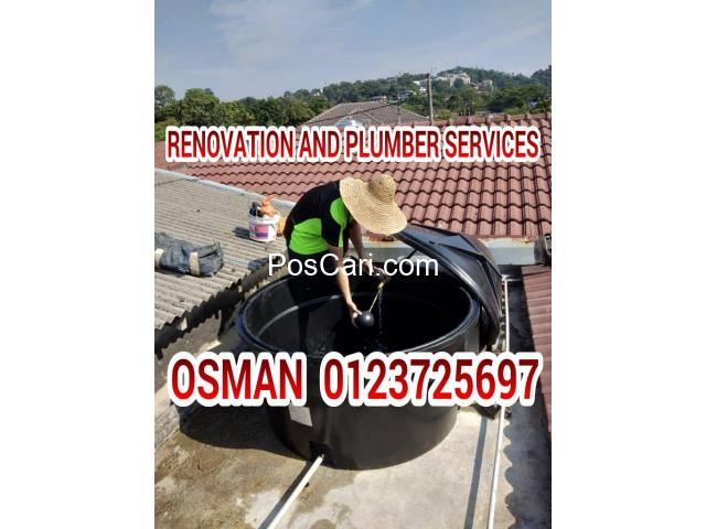 Osman Renovation and plumbing services Tukang Paip bandar saujana putra