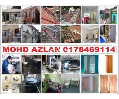plumbing dan renovation mohd azlan area wangsa maju