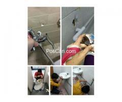 PLUMBER PLUMBING TUKANG PAIP TUKANG CAT RUMAH BAIKI ATAP BOCOR RENOVATION