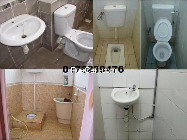 tukang baiki paip sinki tandas tersumbat azlan afik wangsa maju