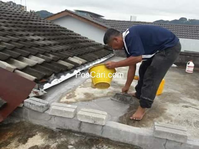 Tukang baiki bumbung bocor,dan tukang paip,puncak alam