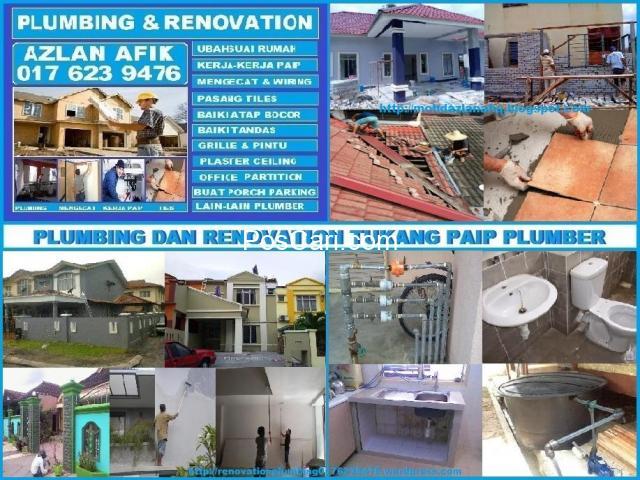 plumbing dan renovation azlan afiq wangsa maju