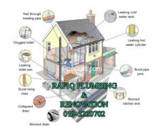 TUKANG PAIP PLUMBER BAIKI ATAP BOCOR RENOVATION