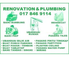 pumbing and renovation 0178469114 mohd azlan wangsa maju