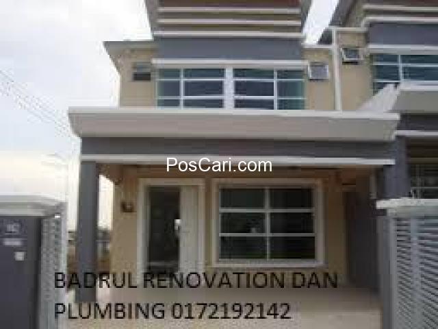 kontraktor renovate rumah dan plumbing badrul , taman sri gombak