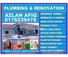 Plumbing dan renovation 0176239476 azlan afiq wangsa maju