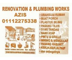 plumber and renovation 01112275338 azis wangsa maju