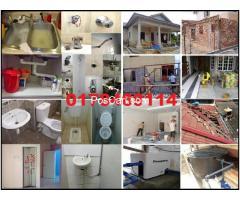 tukang cat rumah dan renovation plumber 0178469114 mohd azlan wangsa maju