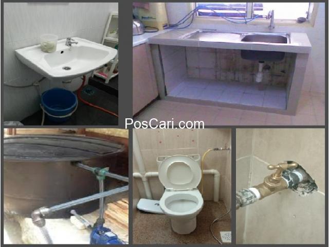 plumbing baiki singki tandas tersumbat 01112275338 azis seksyen 2 wangsa maju